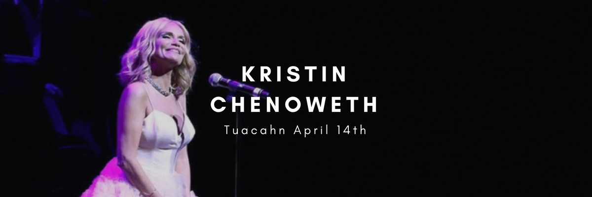 Kristin Chenoweth on stage